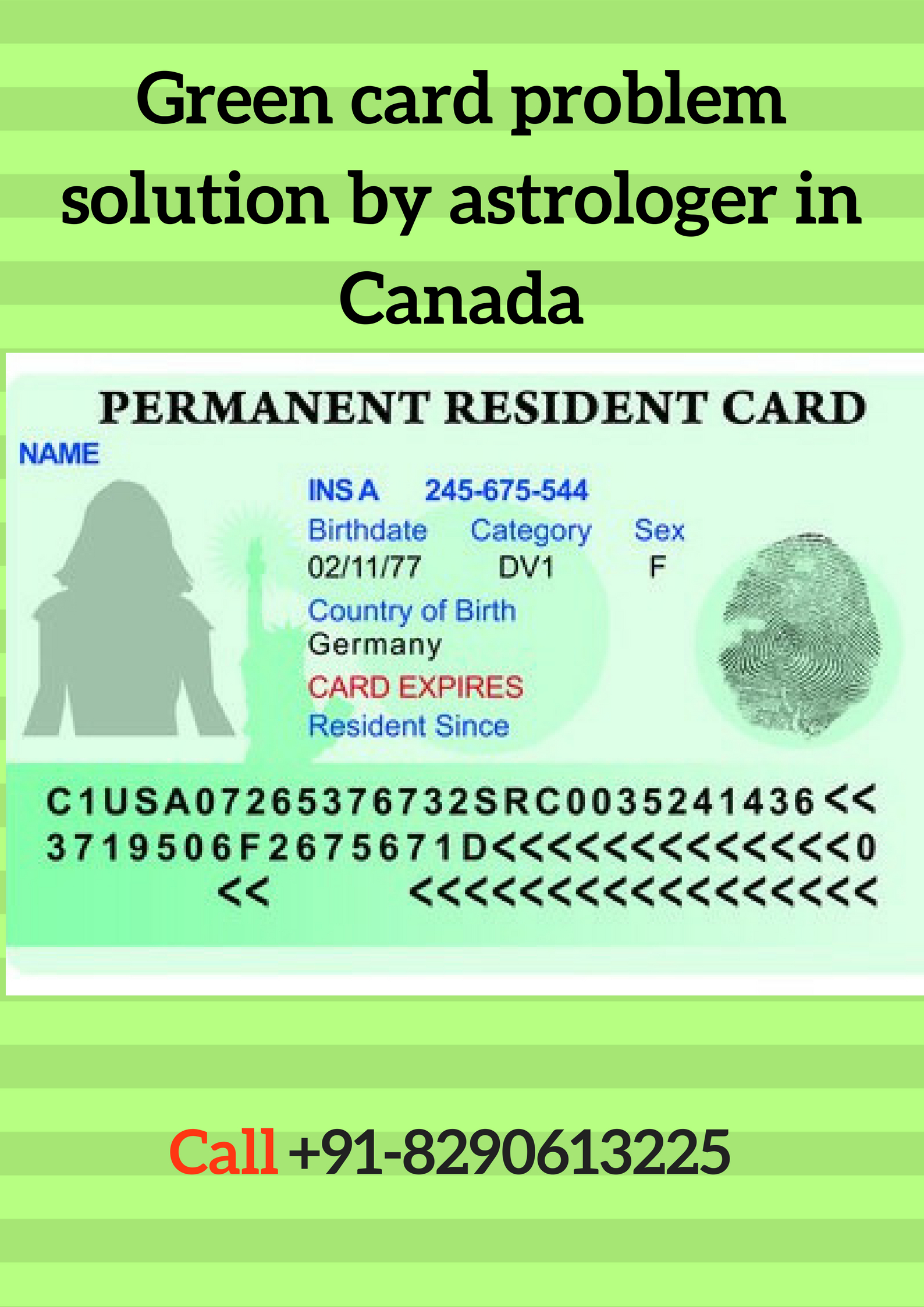 green card problem solution by astrologer in canada